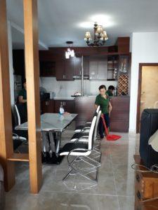 vệ sinh công nghiệp căn hộ chung cư