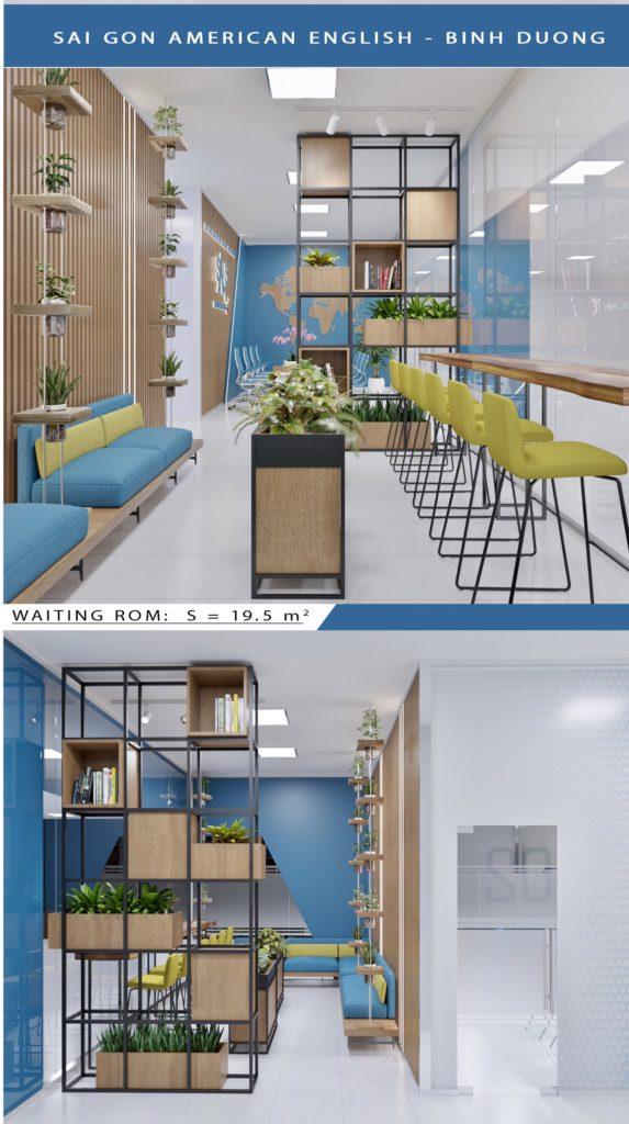 Phòng học cho học viên